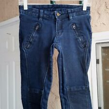 "Michael Kors Skinny Moto Style Jeans Sz 0  L28"""