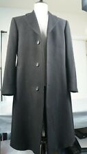 Alexandre savile row cashmere wool overcoat black long button warm heavy coat