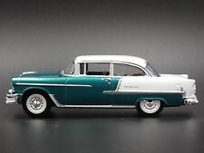 1955 Chevy CHEVROLET Bel Air RARE 1:64 COLLECTIBLE DIORAMA DIECAST MODEL CAR
