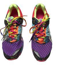Asics Gel-Noosa Tri 8 Multi Colored Women's Triathlon Running Shoes Size 11
