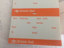 More details for 200 british railway unused double arrow tickets gift novelty restaurant label
