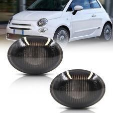 Smoke Lens OEM Side Marker Light Housing for 2007-2019 Fiat 500 500e 500c Abarth