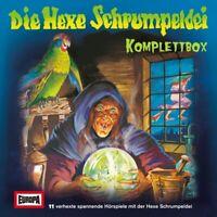 DIE HEXE SCHRUMPELDEI - DIE HEXE SCHRUMPELDEI KOMPLETTBOX  11 CD NEU
