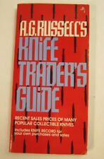 Rare A.G. Russell's Knife Traders Guide 1991 -hard to find-