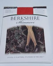 Berkshire Hosiery Shimmers Sz 2 Red Ultra Sheers Control Top Panthose 4429