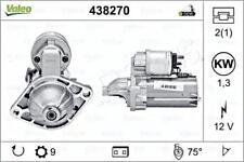 VALEO Starter Motor 438270 Fits CHEVROLET Aveo Astra Combo MPV 2006-