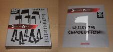 "DEPECHE MODE  SPIRIT BOX PIN + WHERE'S THE REVOLUTION  VINYL 2X12"" - NEUF / MINT"