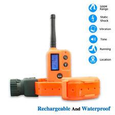 Training Collars Waterproof 9 Level LCD Remote Pet Dog Hunter Beeper Trainer