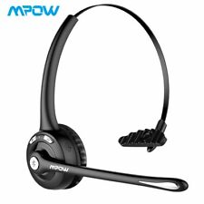 Mpow Office Trucker Bluetooth Headset Noise Cancelling Wireless Headphone w/ Mic
