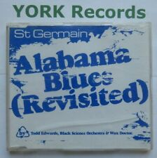 ST GERMAIN - Alabama Blues (Revisited) **PROMO** - Ex CD Single F Communications