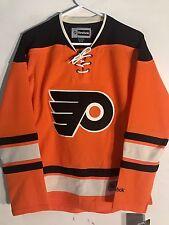 Reebok Women's Premier NHL Jersey Philadelphia Flyers Team Orange Alt sz L