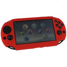 Zedlabz Sc-1 Coque de protection en Silicone pour Sony PS Vita 2000 Slim - Rouge