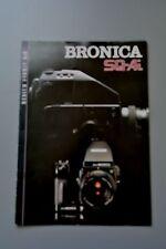 UK Sales Brochure Bronica SQ-Ai 6x6 Medium Format Camera