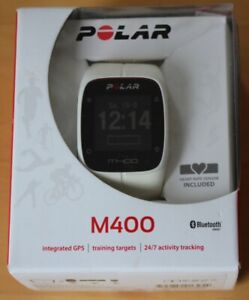 Polar M400 GPS Sportuhr Fitness-Tracker mit Brustgurt und Bluetooth-Sensor OVP