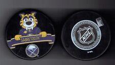 Sabretooth Buffalo Sabres Mascot Souvenir Hockey Puck Inglasco