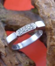 Top moderner Brillant Ring in 950 Platin
