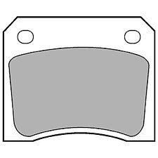 REAR BRAKE PADS JAGUAR E TYPE V12 5.3 PETROL 71-74
