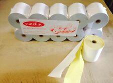 50. 76 x 76  2 PLY W/Y  POS PRINTER ROLLS ( KItchen Printer Rolls )