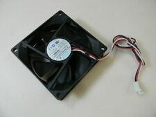 AVC 7blade 80mm X 25mm fan  #DF0802512SEMN  DC12V .13A  3-pin connector