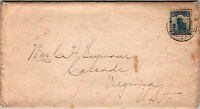 China 10c Junk Cover to USA - Z12767