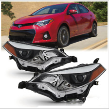 For 2014-2016 Toyota Corolla LED Headlights Headlamp Aftermarket Left+Right NEW