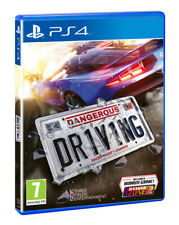 Dangerous Driving Bonus Sony PlayStation 4 Ps4 PAL