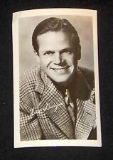 Dave Duryea 1940's 1950's Actor's Penny Arcade Photo Card