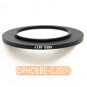 55mm to 77mm 55-77 mm Step Up Filter Ring Adapter