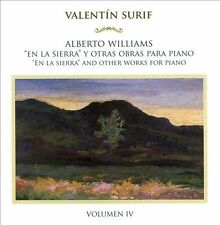 Williams: En la sierra' and other works for piano, Vol. 4, New Music