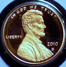 2010-S Proof Lincoln Memorial Penny - Deep Cameo!