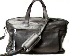 Genuine Leather Cowhide Sports Bag, Travel / Duffel Bag # 9640