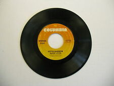 Keith Barrow You Know You Wanna Be Loved/Super Lover 45 RPM Columbia Records