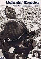 GUITAR DVD Lightnin Hopkins Rare Performances 1960-1979