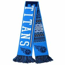 """Tennessee Titans Football Team NFL 60"""" Reversible UGLY Knit Acrylic Scarf Party"""