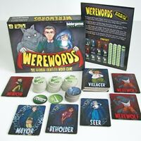 Werewords  ~  Beizer Games ~  The Hidden Identity Word Game ~ 100% Complete