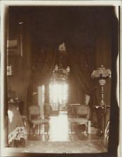 Deutschland, Dresden, Salon  Vintage silver print. Germany. Légende au verso d