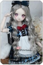 1 3 8-9 Bjd Wig Dal Pullip BJD SD LUTS supper Dollfie Doll wigs Gray