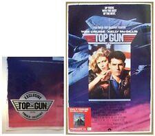 TOP GUN MOVIE POSTER ~ IMAX PROMO 11x17 Tom Cruise Kelly McGillis Navy Military