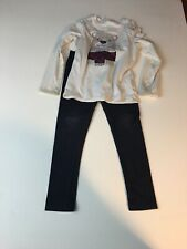Girls 6/6x Cat & Jack Top And Leggings Outfit