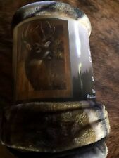 Deer Buck Raschel Throw Afghan Blanket Nature  Hunter
