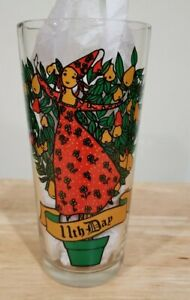 Vintage Pepsi 12 Days of Christmas Glass 11th Day Replacement