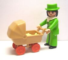 Playmobil Lady mit Kinderwagen
