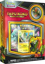 Pokémon TCG: Tapu Koko Pin Collection Box Factory Sealed English PRESALE 06/02