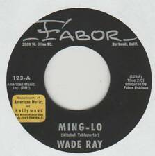 WADE RAY 45 MING-LO B/W NATHAN HALE VG+ FABOR 123 COUNTRY