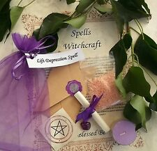 Lift Depression Spell Kit  Votive Candle  Magic Wicca Created by a Witch