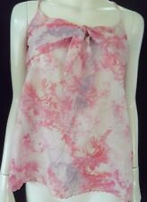 FOREVER NEW Womens Pink Spagetti Strap Top size 8 - BNWT