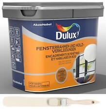 Dulux Fresh Up Renovierfarbe Fensterrahmen Holzverkleidung helles leinen 0 75l