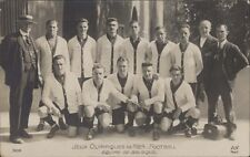 FOOTBALL JUEGOS OLIMPICOS 1924  EQUIPE DE BELGIQUE N°306 REAL PHOTO