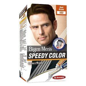 Bigen Men's Speedy Color, Dark Brown 103, 80g , Free Shipping