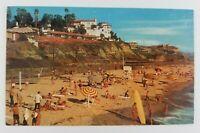 Postcard San Clemente Beach California Near Ocean Fishing Pier Surfboard